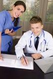 medicinska professionell Royaltyfri Foto