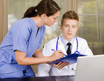 medicinska professionell Arkivfoton