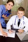 medicinska professionell Arkivbilder