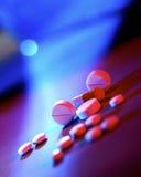 Medicinska receptdroger - cancer Fotografering för Bildbyråer