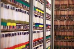 medicinska register Arkivbild