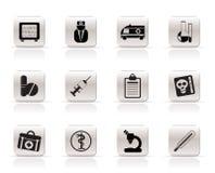 medicinska sjukvårdsymboler Arkivfoton