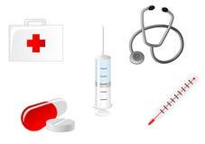 medicinska symboler Royaltyfri Bild
