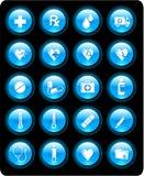medicinska symboler Fotografering för Bildbyråer