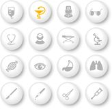 medicinska symboler Royaltyfri Fotografi