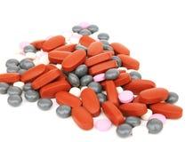 medicinska tablets Royaltyfria Bilder