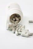 medicinska tablets Arkivbild