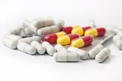 medicinska tablets Royaltyfri Foto