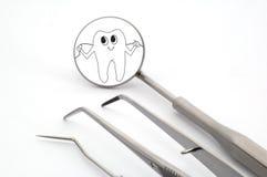medicinska tand- instrument Arkivbild