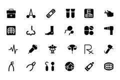 Medicinska vektorsymboler 4 Arkivbild