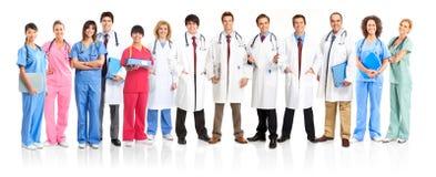 medicinskt folk royaltyfria bilder