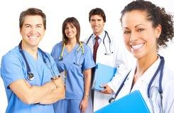 medicinskt folk Arkivbilder
