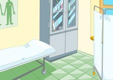 Medicinskt kontor royaltyfri illustrationer