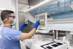 Medicinskt laboratorium Royaltyfria Bilder