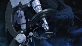 Medicinskt laboratorium för mikroskop vektor illustrationer
