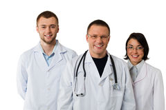 medicinskt lag Arkivbild