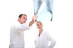 medicinskt lag Royaltyfri Foto