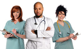 medicinskt lag Arkivfoto