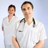 medicinskt lag Fotografering för Bildbyråer