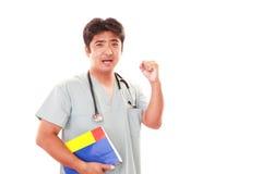 medicinskt le för asiatisk doktor royaltyfri bild