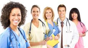 medicinskt le för sjuksköterska Arkivbild
