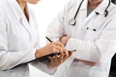 Medicinskt möte Fotografering för Bildbyråer