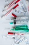 Medicinskt material för injektion Arkivfoton