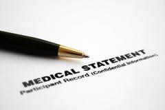 medicinskt meddelande fotografering för bildbyråer