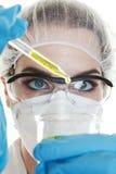 medicinskt prov Arkivfoto