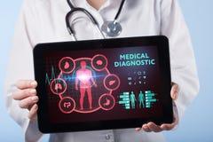 Medicinskt sjukvårdbegrepp - symbol av medicininnovationmedien royaltyfri fotografi