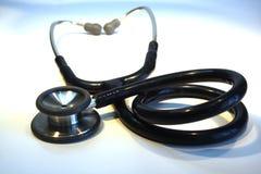 medicinskt stetoskop royaltyfri foto