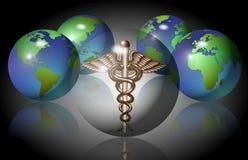 Medicinskt symbol Arkivbild