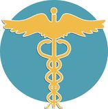 medicinskt symbol Arkivfoto