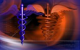 medicinskt symbol Arkivfoton