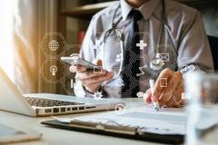 Medicinskt teknologibegrepp doktorsarbete arkivfoto