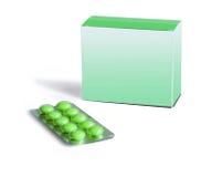 medicintablets Arkivfoto