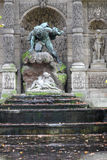 Medicis Fountain in Jardin du Luxembourg Royalty Free Stock Photos