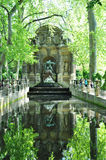 Medicis fountain in Luxembourg garden, paris Stock Photos