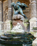 Medicis Fountain in Luxembourg Gardens Royalty Free Stock Photos