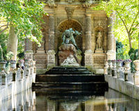 Medicis springbrunn royaltyfri bild