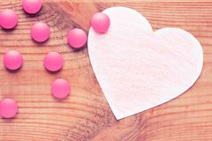 Medicne para el corazón Fotos de archivo libres de regalías