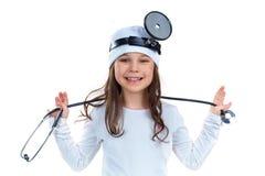 Medico allegro fotografia stock libera da diritti