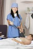 Medico amichevole Fotografia Stock