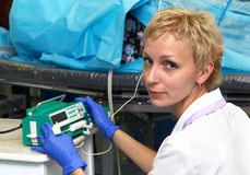 Medico - anesthesiologist fotografia stock