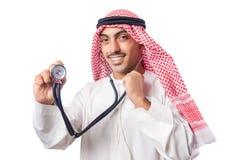 Medico arabo Fotografie Stock