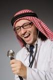 Medico arabo divertente immagine stock libera da diritti