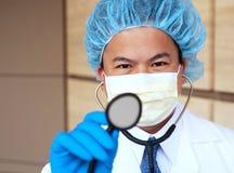 Medico asiatico Fotografia Stock Libera da Diritti