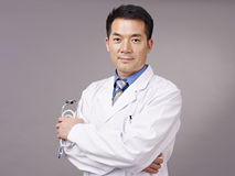 Medico asiatico Immagini Stock Libere da Diritti