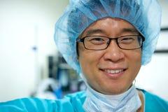 Medico asiatico Immagini Stock