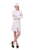Medico attraente della donna Immagini Stock